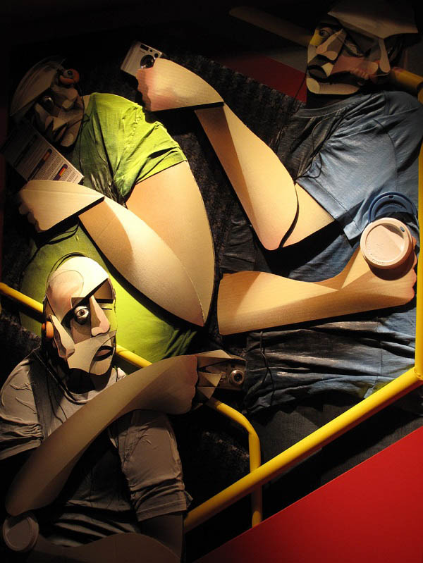adam neate artist 3d artwork paintings 8 Astonishing 3D Collages by Adam Neate [30 pics]