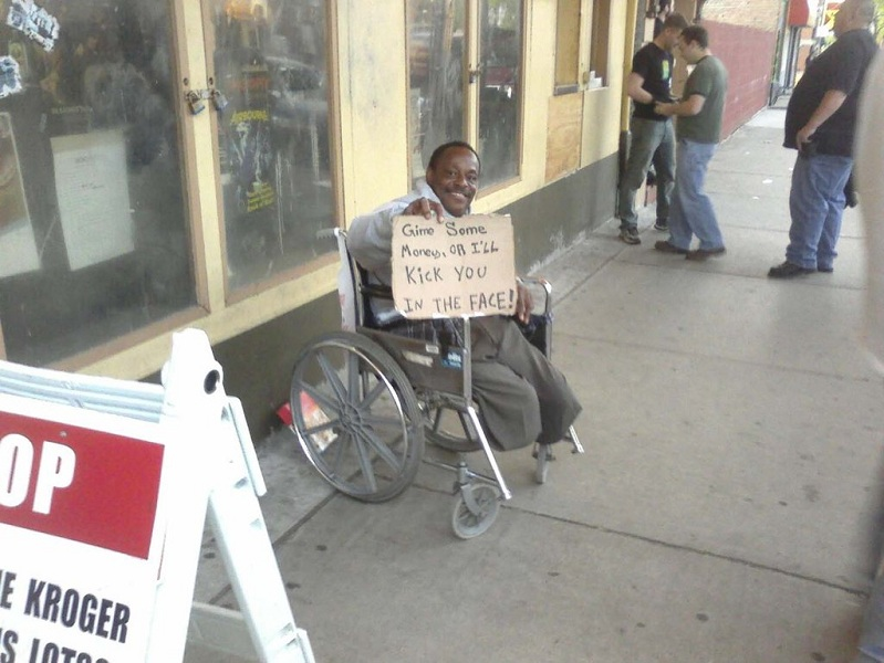 funny-homeless-sign-kick-you-in-the-face