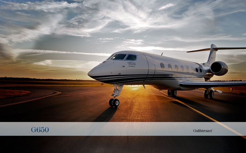 What's a G6? It's the $58 million Gulfstream G650 PrivateJet