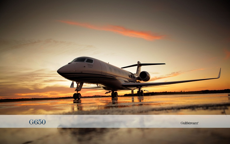Whats A G6 Its The 58 Million Gulfstream G650 Private Jet TwistedSifter