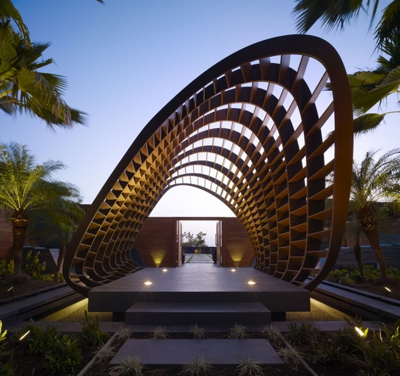 The Stunning Kona Residence in Hawaii by Belzberg Architects