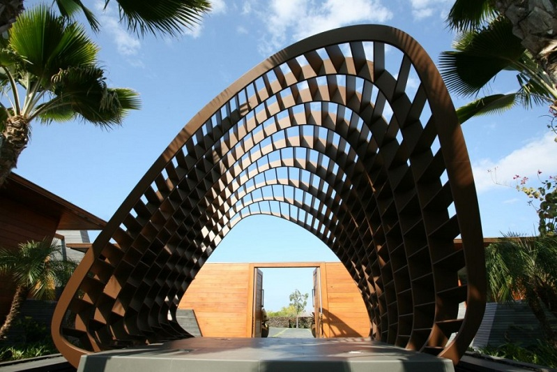 kona residence hawaii belzberg architects 2 The Stunning Kona Residence in Hawaii by Belzberg Architects