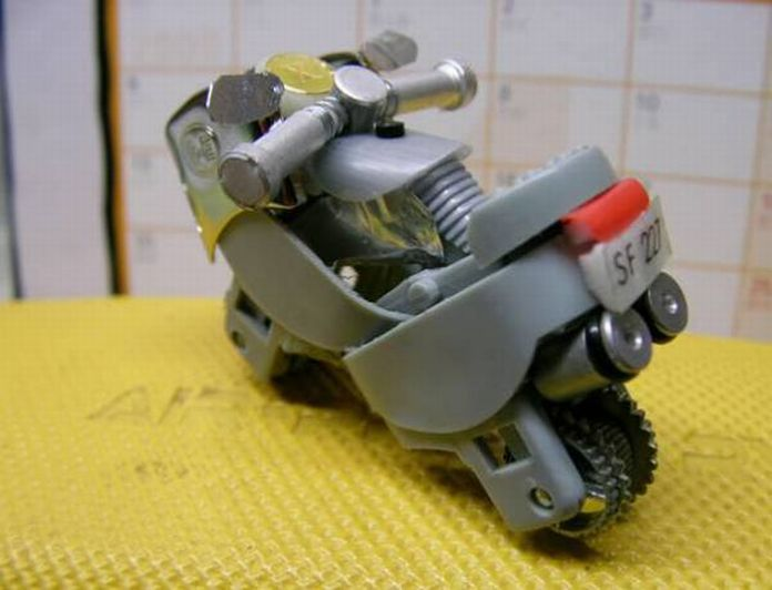 lighter motorcycle How to Turn a Lighter Into a Mini Motorcycle