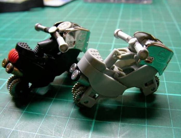 mini motorbikes made from lighters How to Turn a Lighter Into a Mini Motorcycle