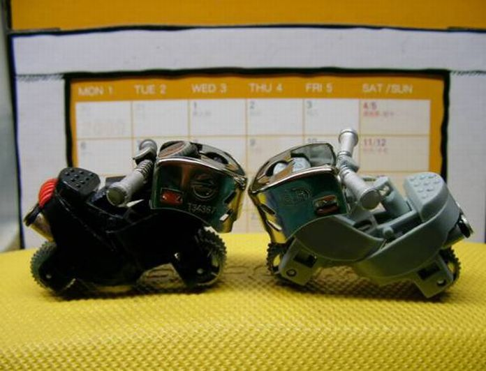motorcycle lighters How to Turn a Lighter Into a Mini Motorcycle