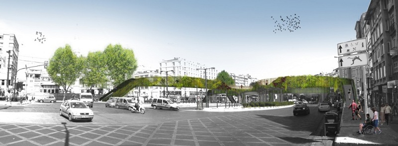 Winner of the Istanbul Pedestrian Footbridge Design Competition