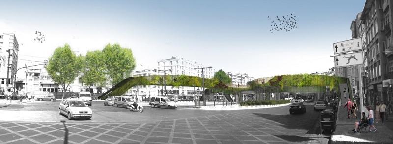 Winner of the Istanbul Pedestrian Footbridge DesignCompetition
