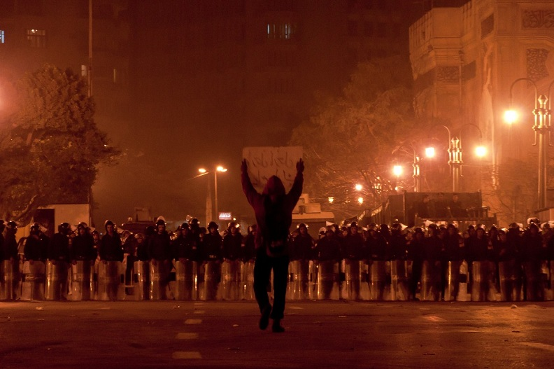 Picture of the Day: Protests in Egypt