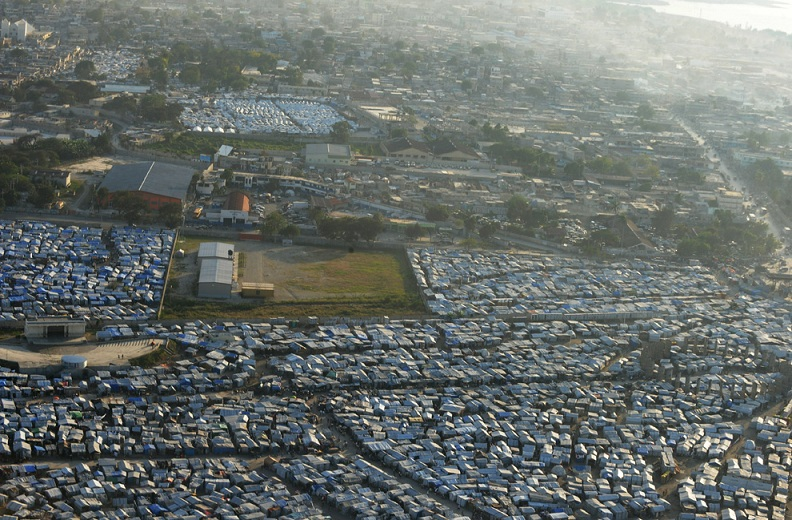 tent city port au prince haiti Picture of the Day: Haiti   Hope & Despair, 1 Year Later