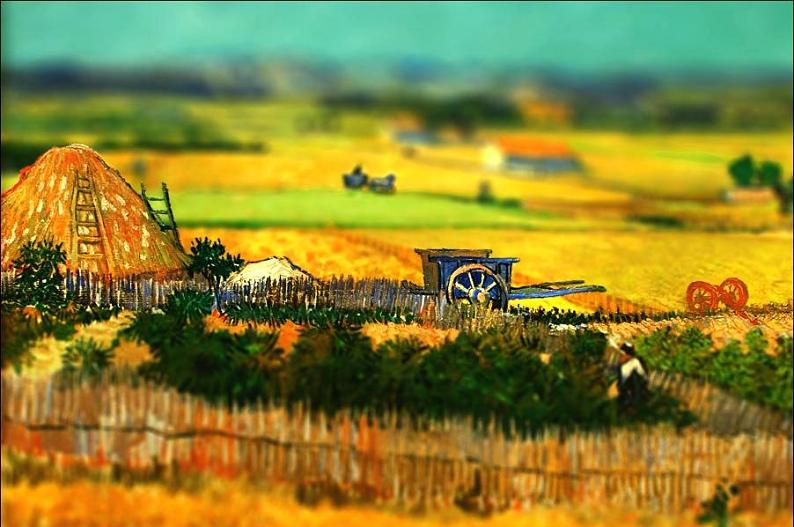 Amazing Tilt-Shift Van Gogh Paintings [16 Pics] «TwistedSifter - photo#26