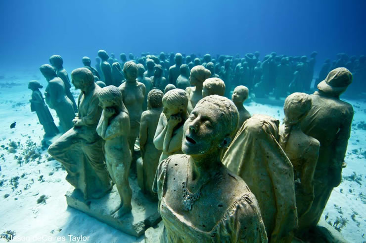 underwater sculptures artist jason decaires taylor artificial reefs 12 Astonishing Underwater Sculptures by Jason deCaires Taylor [30 pics]