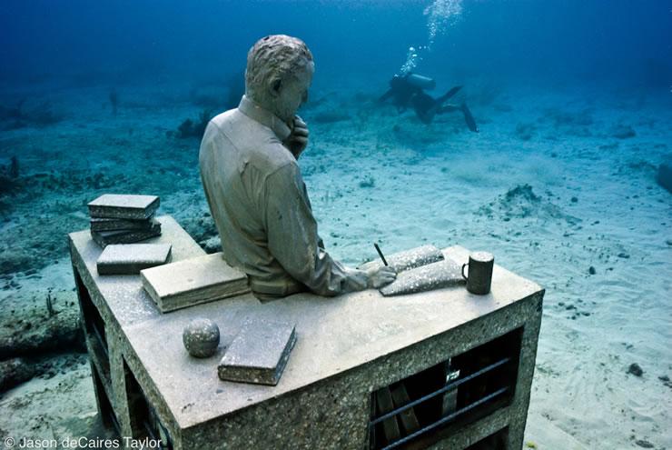 underwater sculptures artist jason decaires taylor artificial reefs 17 Astonishing Underwater Sculptures by Jason deCaires Taylor [30 pics]