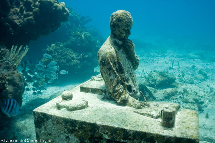 underwater sculptures artist jason decaires taylor artificial reefs 18 Astonishing Underwater Sculptures by Jason deCaires Taylor [30 pics]
