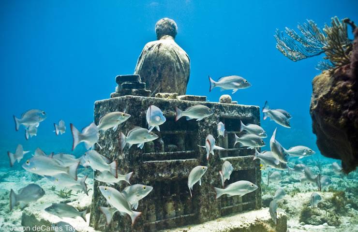 underwater sculptures artist jason decaires taylor artificial reefs 19 Astonishing Underwater Sculptures by Jason deCaires Taylor [30 pics]