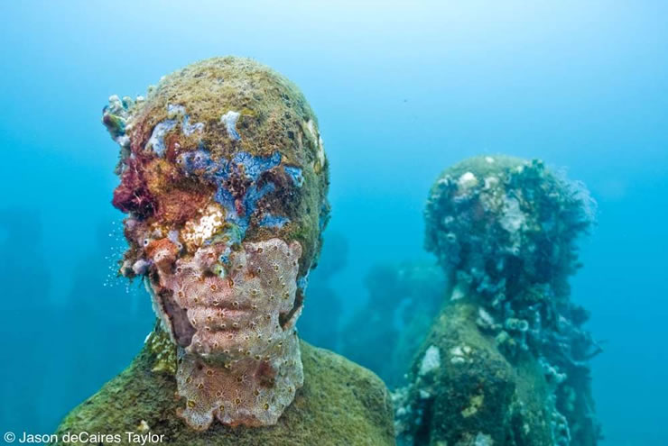 underwater sculptures artist jason decaires taylor artificial reefs 26 Astonishing Underwater Sculptures by Jason deCaires Taylor [30 pics]