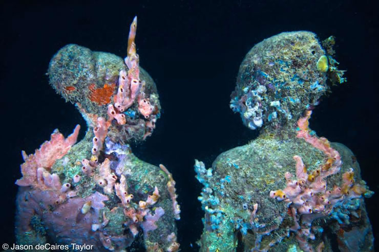 underwater sculptures artist jason decaires taylor artificial reefs 27 Astonishing Underwater Sculptures by Jason deCaires Taylor [30 pics]