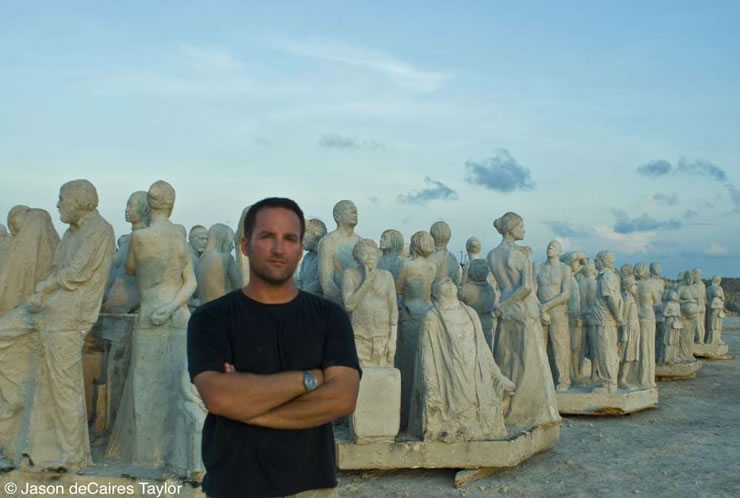 underwater sculptures artist jason decaires taylor artificial reefs 7 Astonishing Underwater Sculptures by Jason deCaires Taylor [30 pics]