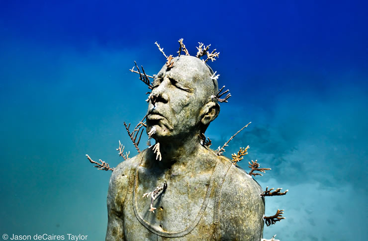underwater sculptures artist jason decaires taylor artificial reefs 8 Astonishing Underwater Sculptures by Jason deCaires Taylor [30 pics]
