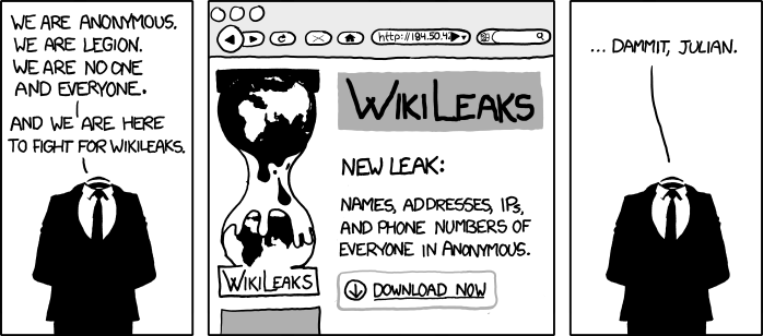 We Are Anonymous [ComicStrip]