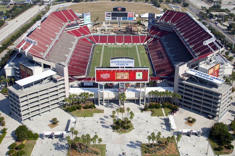 Raymond James Stadium, Tampa