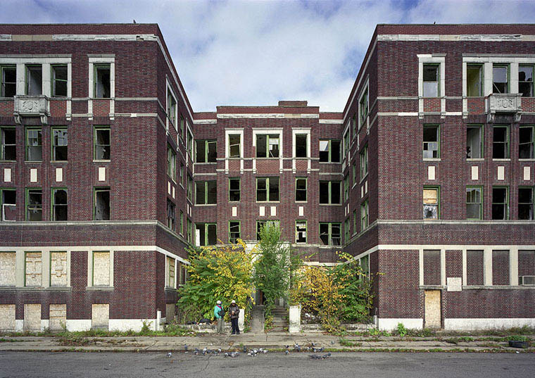 ruins of detroit yves marchand romain meffre 14 The Ruins of Detroit