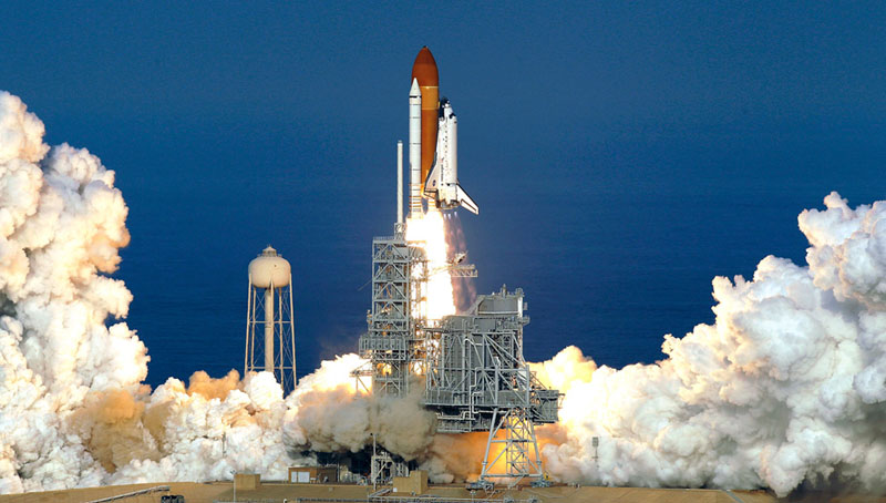 space shuttle discovery liftoff - photo #26