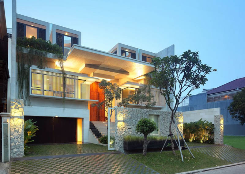 static house jakarta indonesia tws and partners 30