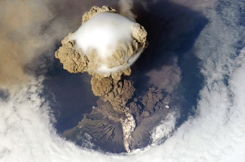 Picture of the Day: AerialEruption