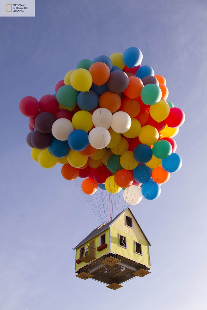 Picture Of The Day: Balloon House From UP In Real Life