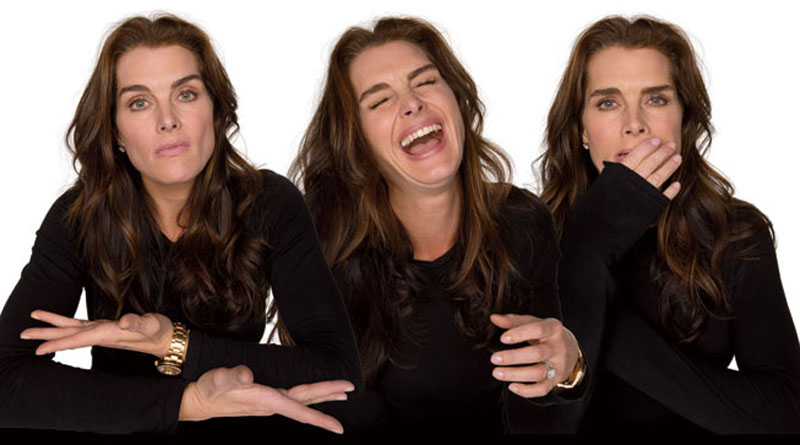 brooke shields acting in character Funny Faces: Famous Actors Acting Out [20 Pics]