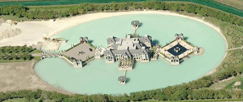 charles siegers mansion in miami Picture of the Day: A Castle in Miami?!?