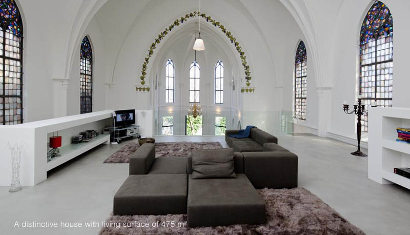 church conversion into residence utrecht the netherlands zecc architects 12 Converting a Church Into a Family Home