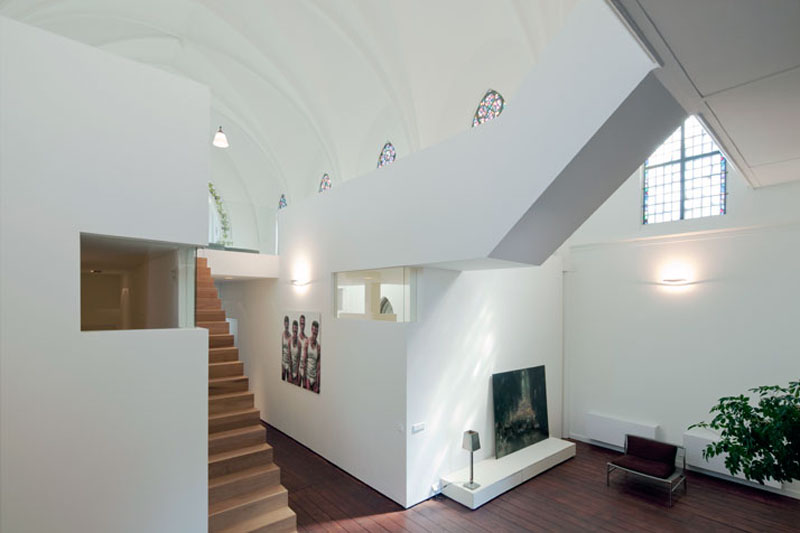 church conversion into residence utrecht the netherlands zecc architects 19 Converting a Church Into a Family Home