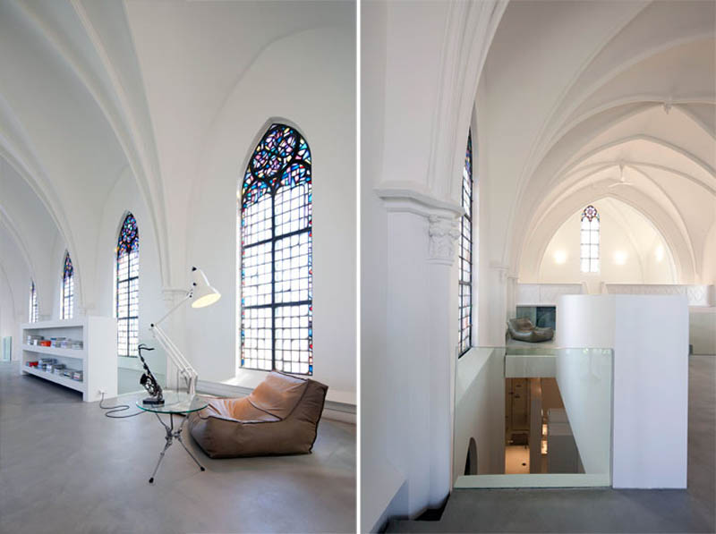 church conversion into residence utrecht the netherlands zecc architects 2 Converting a Church Into a Family Home