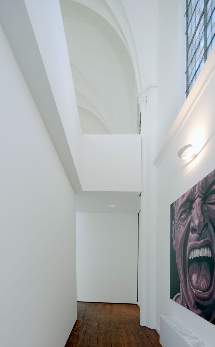 church conversion into residence utrecht the netherlands zecc architects 3 Converting a Church Into a Family Home