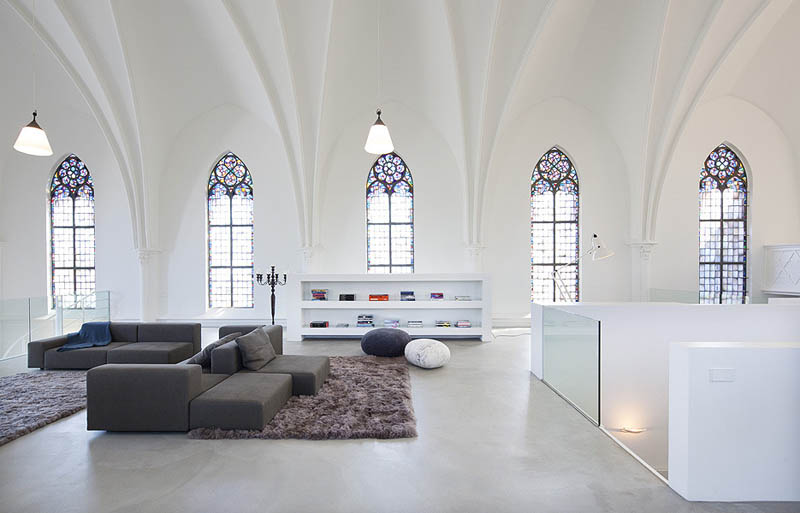 church conversion into residence utrecht the netherlands zecc architects 5 Converting a Church Into a Family Home