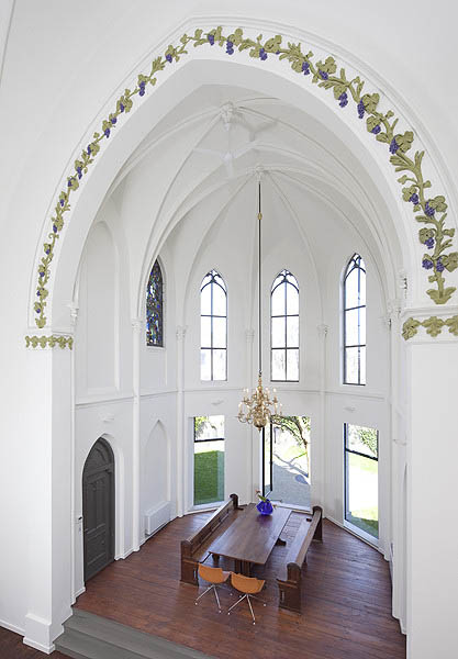 church conversion into residence utrecht the netherlands zecc architects 6 Converting a Church Into a Family Home