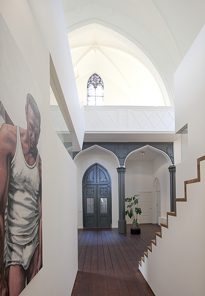 church conversion into residence utrecht the netherlands zecc architects 9 Converting a Church Into a Family Home
