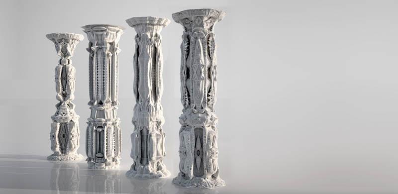 complex doric columns michael hansmeyer mandelbrot 17 The Tallest Bridge in the World [20 pics]