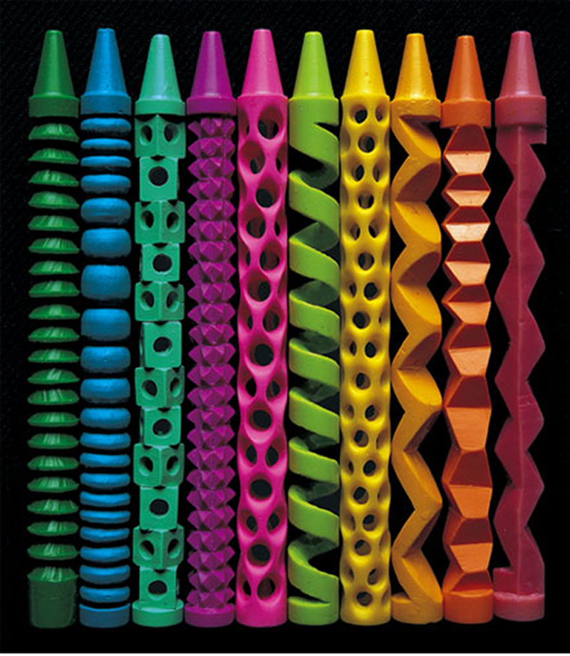 Picture of the Day: Crazy Crayon Carvings