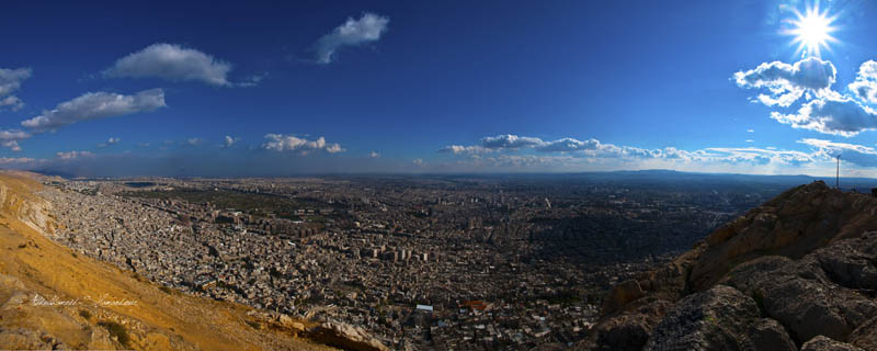 damascus syria skyline aerial 25 Stunning Skylines Around the World
