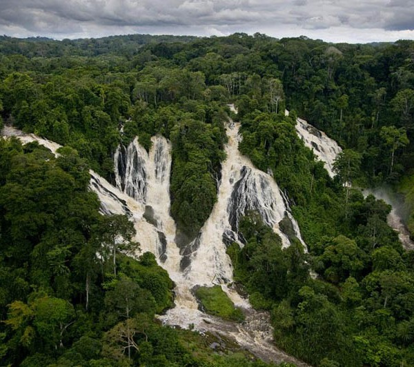 Djidji waterfalls, Ivindo National Park, Gabon