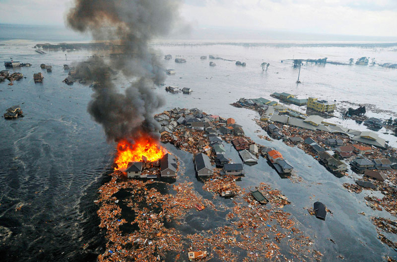 Picture of the Day: Devastation inJapan