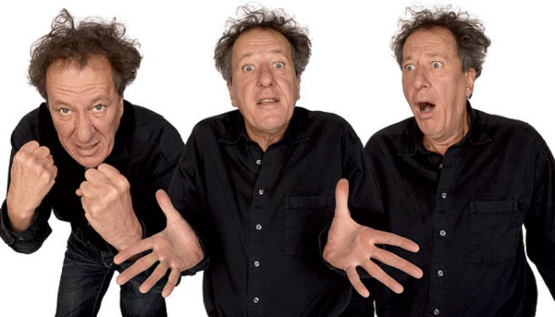 geoffrey rush acting in character Funny Faces: Famous Actors Acting Out [20 Pics]