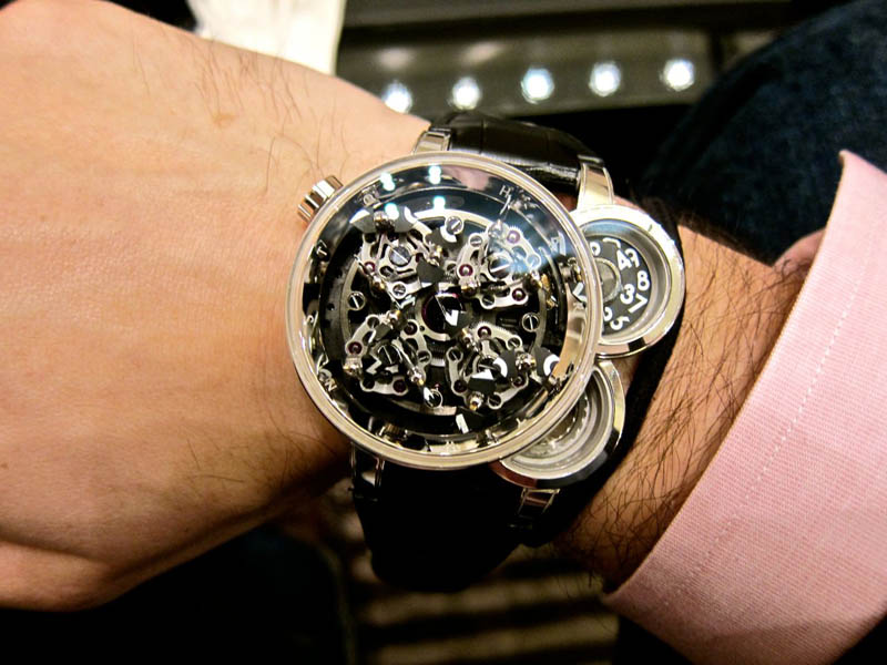 harry winston opus 11 denis giguet The Harry Winston Opus Watch Series