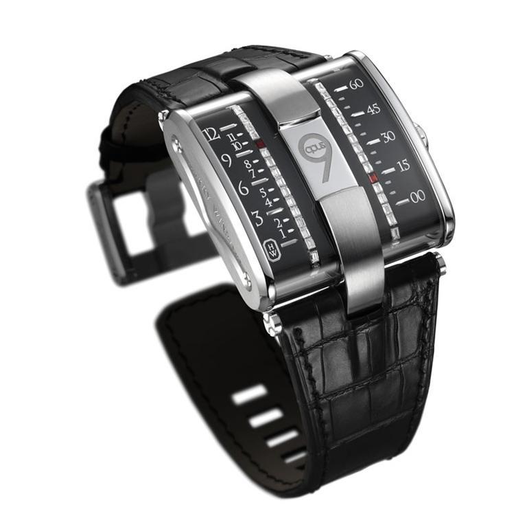 harry winston opus 9 jean marc wiederrecht eric giroud The Harry Winston Opus Watch Series