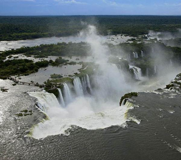 Iguazu waterfalls, Argentina and Brazil