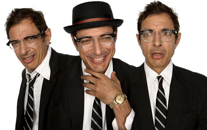 jeff goldblum acting in character Funny Faces: Famous Actors Acting Out [20 Pics]