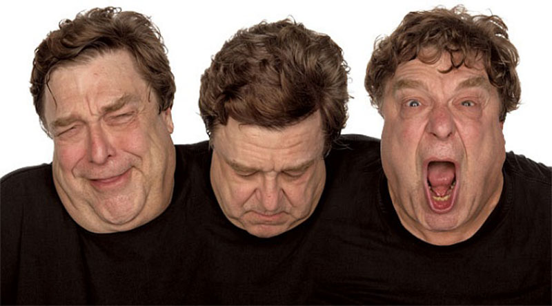 john goodman acting in character Funny Faces: Famous Actors Acting Out [20 Pics]