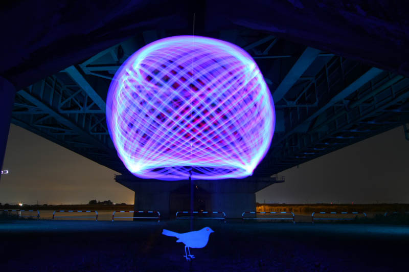 light painting light drawing light graffiti trevor williams 3 Amazing Light Paintings by Trevor Williams [25 pics]
